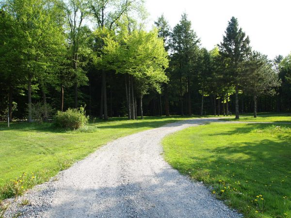 Wide Roads in Campgrounds